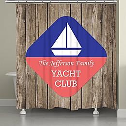 Laural Home® Sailing Beach Shower Curtain