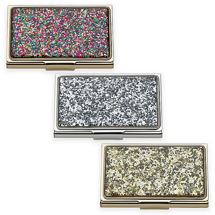kate spade new york Simply Sparkling™ Glitter Card Holder  2f8543ad66f