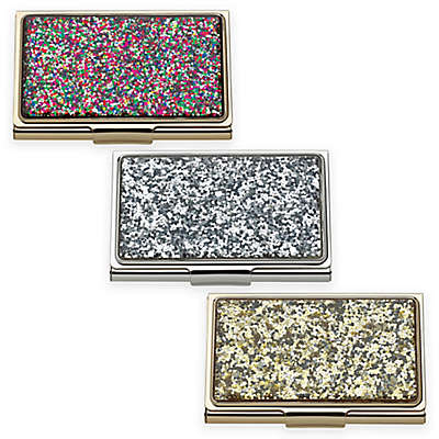 kate spade new york Simply Sparkling™ Glitter Card Holder
