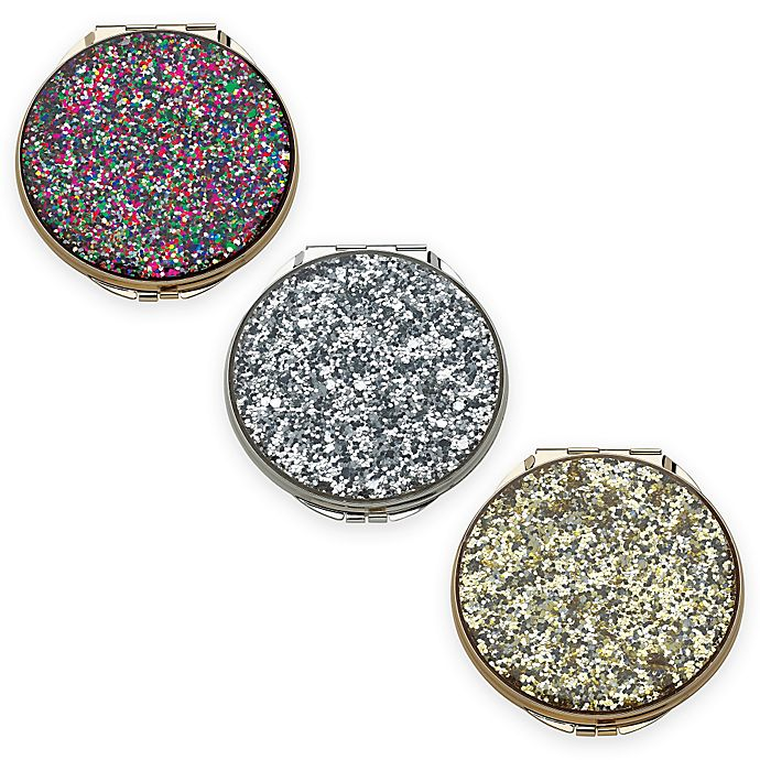 383bfa93964 kate spade new york Simply Sparkling™ Glitter Compact Mirror