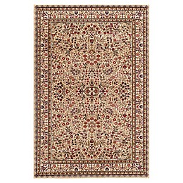 Concord Global Sarouk 2'7 x 4' Accent Rug in Ivory
