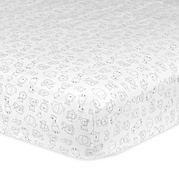 Gerber® Printed Fitted Crib Sheets