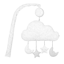 Just Born® Sparkle Stars Musical Mobile in Grey
