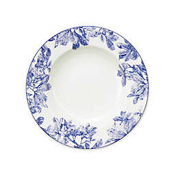 Caskata Arbor Blue Rim Soup Bowl