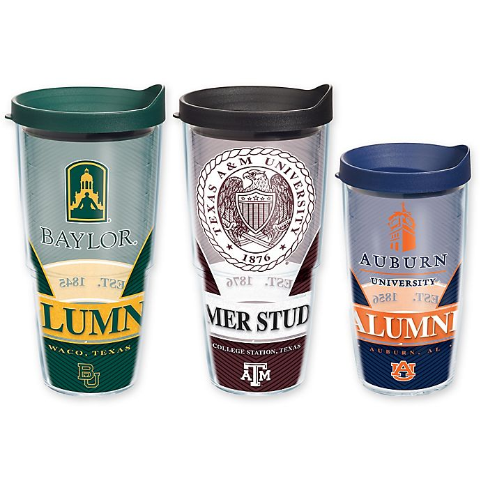 Alternate image 1 for NCAA Alumni 24 oz. Wrap Tumbler with Lid