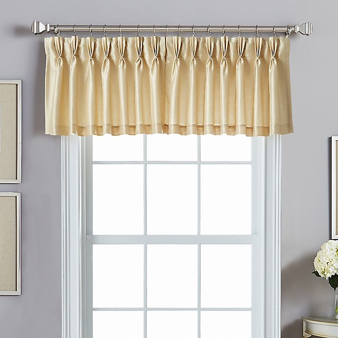 Alternate image 1 for Spellbound Pinch Pleat Backtab Valance