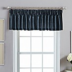 Spellbound Pinch-Pleat Back Tab Valance in Indigo