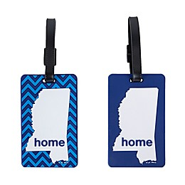 Latitude 40°N® Mississippi State Love Luggage Tags (Set of 2)