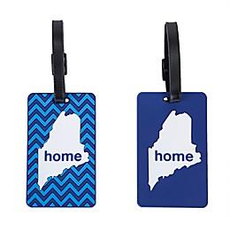 Latitude 40°N® Maine State Love Luggage Tags (Set of 2)