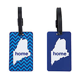Latitude 40°N® Maine State Love Luggage Tags (Set of 2)