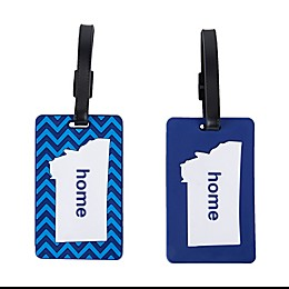Latitude 40°N® Montana State Love Luggage Tags (Set of 2)
