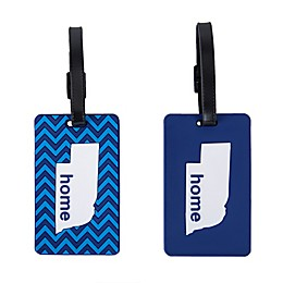 Latitude 40°N® Nebraska State Love Luggage Tags (Set of 2)
