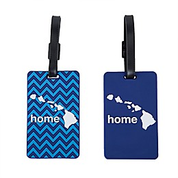 Latitude 40°N® Hawaii State Love Luggage Tags (Set of 2)