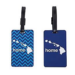 Latitude 40°N® Hawaii State Love Luggage Tags (Set of 2)