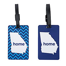 Latitude 40°N® Georgia State Love Luggage Tags (Set of 2)