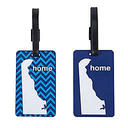 Latitude 40°N® Delaware State Love Luggage Tags (Set of 2)