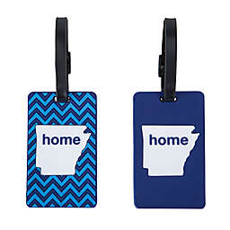 Latitude 40°N® Arkansas State Love Luggage Tags (Set of 2)