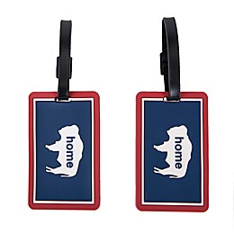 Latitude 40°N® Wyoming State Love Luggage Tags (Set of 2)