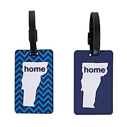 Latitude 40°N® Vermont State Love Luggage Tags (Set of 2)