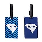 Latitude 40°N™ South Carolina State Love Luggage Tags (Set of 2)