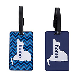 Latitude 40°N® New York State Love Luggage Tags (Set of 2)