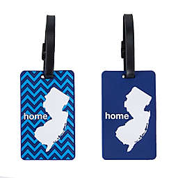 Latitude 40°N® New Jersey State Love Luggage Tags (Set of 2)