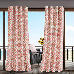 Madison Park Daven 3M Scotchgard™ Grommet Top Outdoor Curtain Panel
