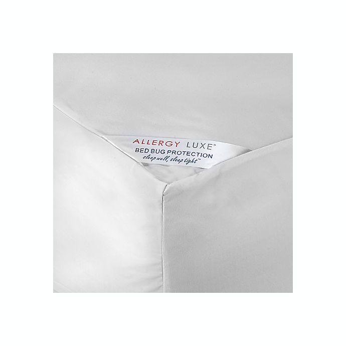 Alternate image 1 for Allergy Luxe® Bed Bug Mattress Protectors