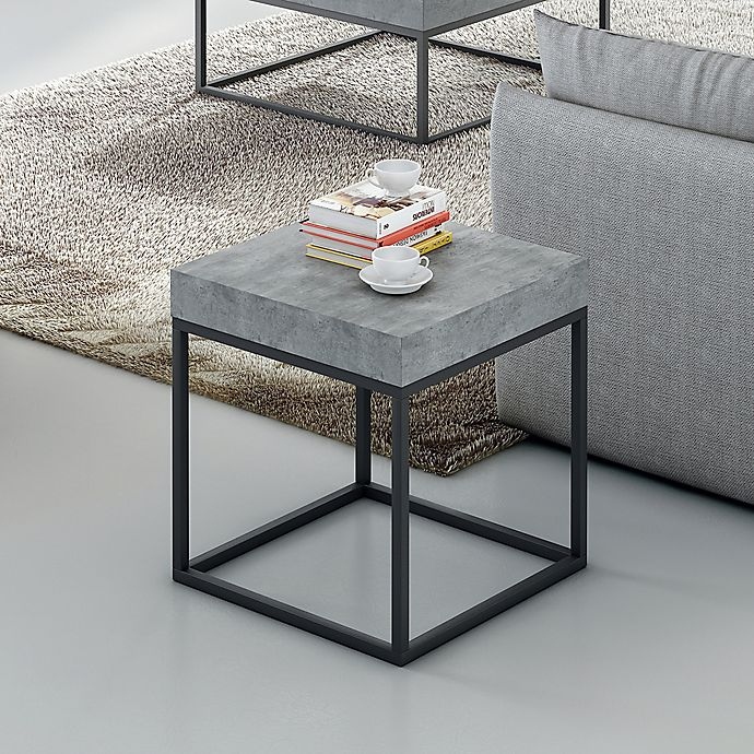 Alternate image 1 for Tema Petra Side Table in Black