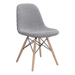 Sappy Dining Chair in Houndstooth