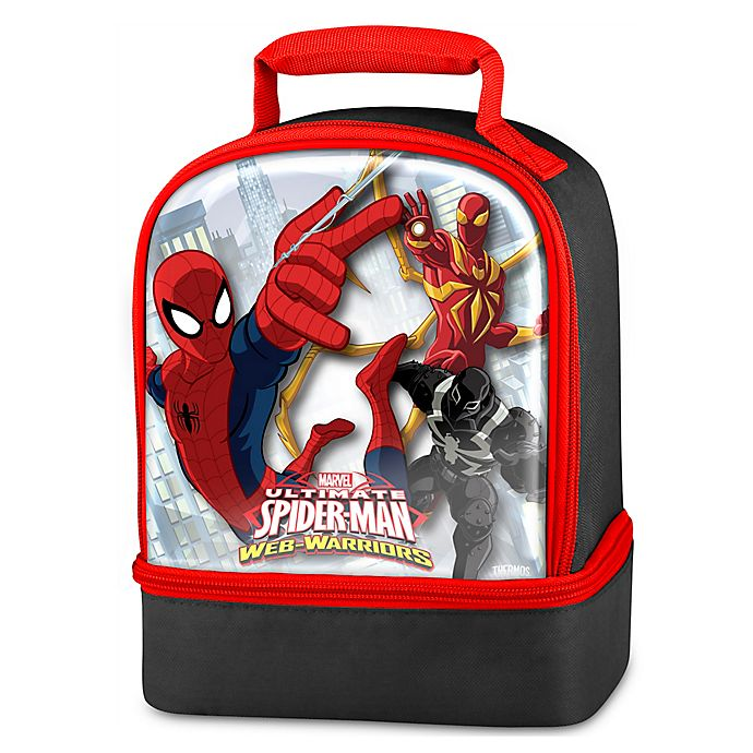 Alternate image 1 for Thermos® Spiderman Dual Lunch Kit