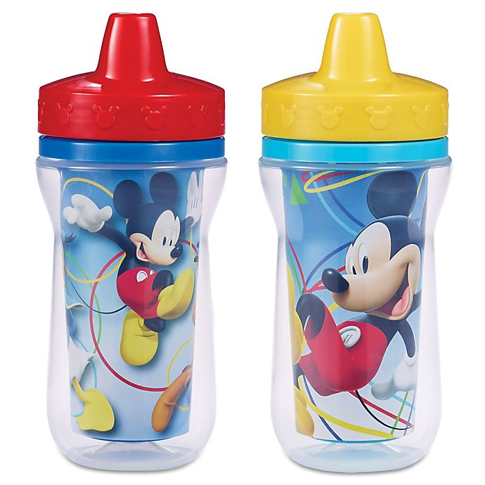 Alternate image 1 for Mickey Mouse 9-Ounce Insulated Cup (2 Pack)