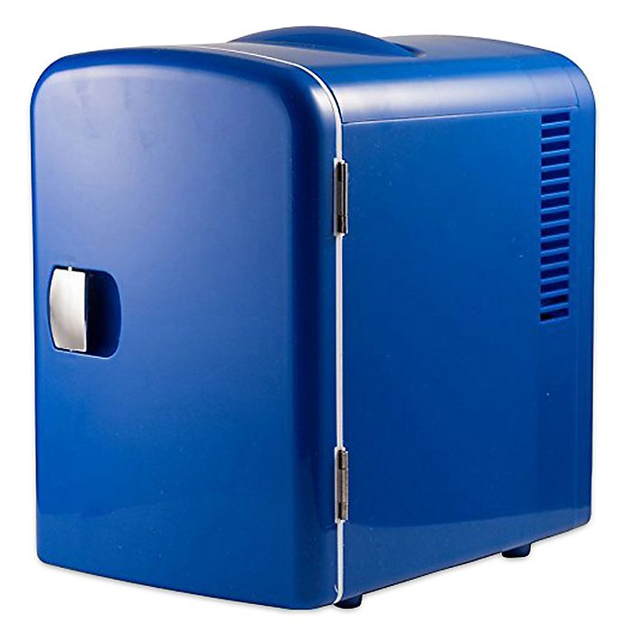 Gour Portable 6 Can Mini Fridge Cooler And Warmer
