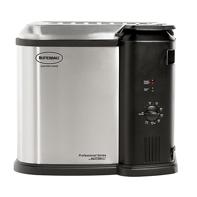 Alternate image 1 for Masterbuilt® Butterball® XL Electric Fryer in Stainless Steel