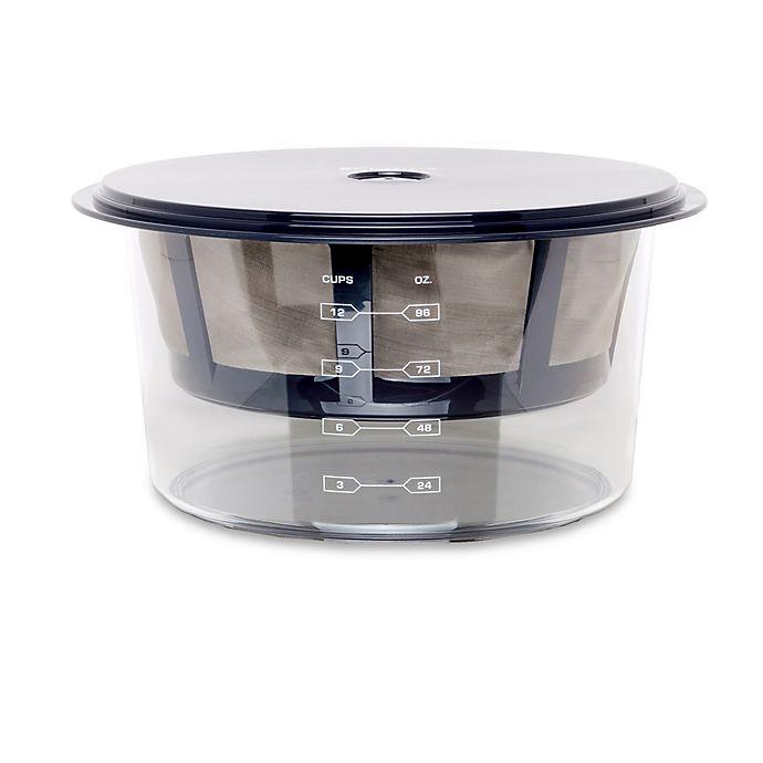 Alternate image 1 for Euro Cuisine® Greek Yogurt Maker with Stainless Steel Strainer