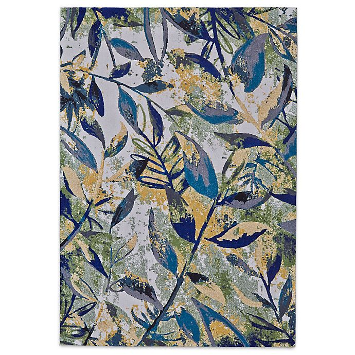 Alternate image 1 for Feizy Caslon Leaves 8-Foot x 11-Foot Area Rug in Willow