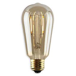 Luminance Nostalgia LED ST19 Bulb in Amber