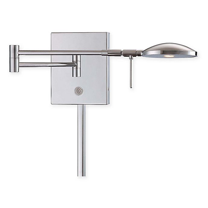 Alternate image 1 for George Kovacs® LED Swing Arm Wall Lamp with Chrome Finish