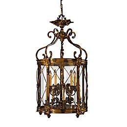 Metropolitan Family Collection 10-Light Pendant in Bronze