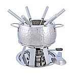 Swissmar® Bienne 11-Piece Stainless Steel Fondue Set