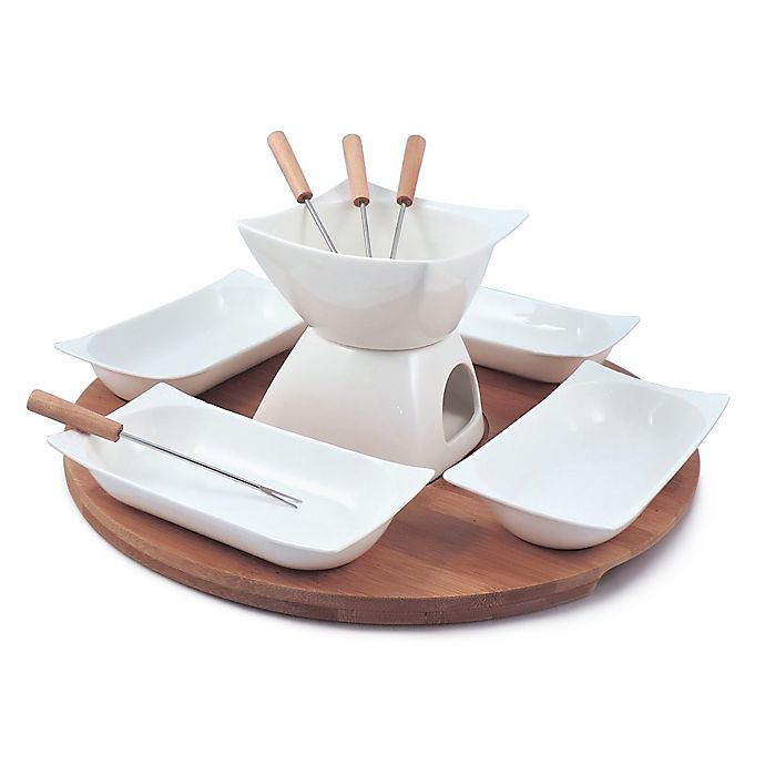 Alternate image 1 for Swissmar Sensui 12-Piece Chocolate Fondue Set