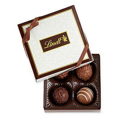 Lindt Lindor Gourmet Truffles Sampler Box