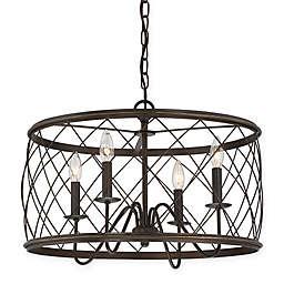 Quoizel® Dury 4-Light Pendant Ceiling Fixture