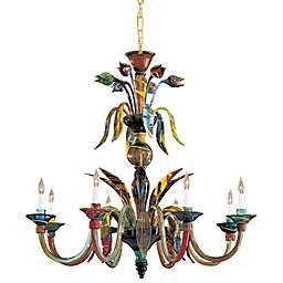 Metropolitan® Lighting Fixture Company 8-Light Camer Chandelier