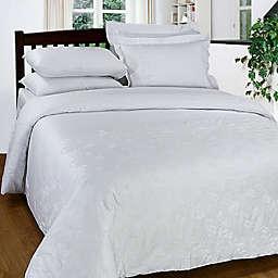 Maspar 300-Thread-Count Embroidered Duvet Cover Set