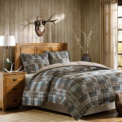 Woolrich White River Comforter Set In Brown Bed Bath
