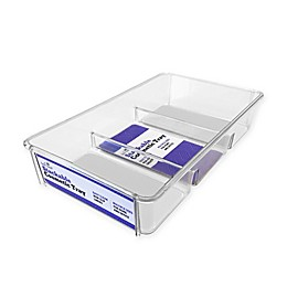 3-Compartment Acrylic Cosmetic/Jewelry Tray