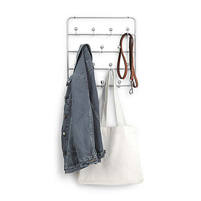 Umbra® Nickel Estique Over-the-Door Accessory Organizer