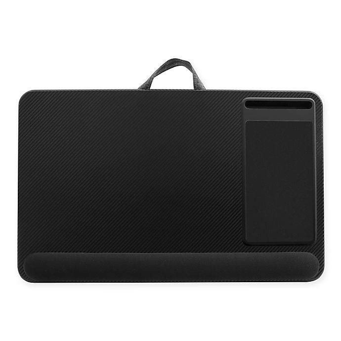 Alternate image 1 for Deluxe XL Laptop Lap Desk in Black Carbon