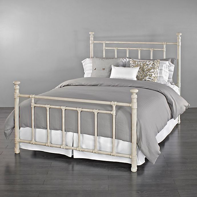 Alternate image 1 for Blake Iron King Bed in Ivory